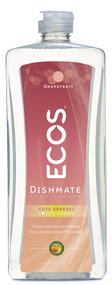 Earth Friendly Ecos Dishmate Dish Liquid Grapefruit - 25 fl oz
