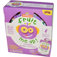 Andros Fruit Me Up!, Only Apples Mangoes Pineapple, 4 Pouches, 4 oz (113 g) (5 PACK)