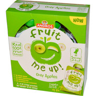 Andros Fruit Me Up!, Only Apples, 4 Pouches, 4 oz (113 g) (5 PACK)
