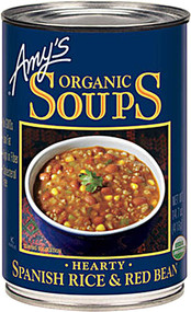 Amys, Organic Soup,  Spanish Rice and Red Bean - 14.7 fl oz -5 PACK
