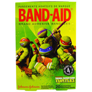 Band Aid, Brand Adhesive Bandages, Teenage Mutant Ninja Turtles, 20 Assorted Sizes (5 PACK)