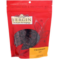 3 PACK OF Bergin Fruit and Nut Company, Cranberries, Dried, 5 oz (142 g)