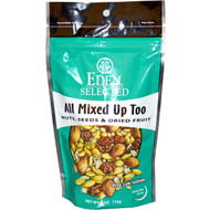 3 PACK of Eden Foods, Selected, Quiet Moon, Nuts, Seeds & Dried Fruit, 4 oz (113 g)