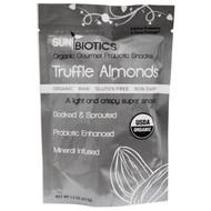 3 PACK of Sunbiotics, Organic Gourmet Probiotic Snacks, Truffle Almonds, 1.5 oz (42.5 g)