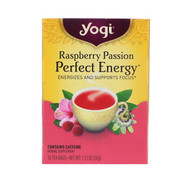 3 PACK OF Yogi Tea, Raspberry Passion, Perfect Energy, 16 Tea Bags, 1.12 oz (32 g)