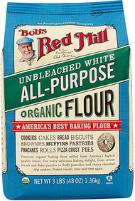Bobs Red Mill Organic Unbleached White All-Purpose Flour - 48 oz