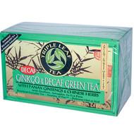 3 PACK of Triple Leaf Tea, Ginkgo & Decaf Green Tea, 20 Tea Bags, 1.4 oz (40 g)