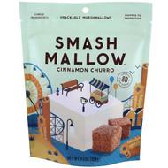 3 PACK of Smashmallow Snackable Marshmallows Cinnamon Churro -- 4.5 oz