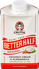 Califia Farms Dairy Free Better Half Coconut Cream & Almond Milk Original - 16.9 fl oz