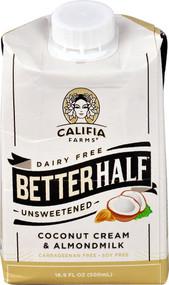 Califia Farms Dairy Free Better Half Coconut Cream & Almond Milk Unsweetened - 16.9 fl oz