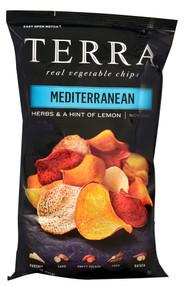 Terra, Exotic Vegetable Chips,  Mediterranean - 5 oz -5 PACK