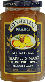St. Dalfour, Chantaine Deluxe Preserves All Natural,  Pineapple & Mango - 11.5 oz -5 PACK