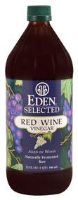 Eden Foods, Selected Red Wine Vinegar - 32 fl oz -5 PACK