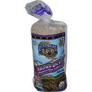 3 PACK of Lundberg, Brown Rice Organic Rice Cakes, Salt Free, 8.5 oz (241 g)