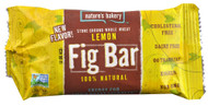 Natures Bakery, 100% Natural Fig Bar,  Lemon - 2 oz -5 PACK