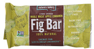 Natures Bakery, Stone Ground Whole Wheat Fig Bar Twin Pack,  Apple Cinnamon - 2 oz -5 PACK