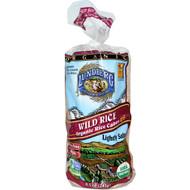 3 PACK of Lundberg, Wild Rice, Organic Rice Cakes, Lightly Salted, 8.5 oz (241 g)