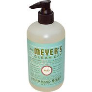 Mrs. Meyers Clean Day Liquid Hand Soap Basil - 12.5 fl oz