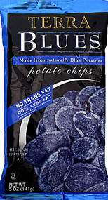Terra, Blues Potato Chips - 5 oz (5 PACK)