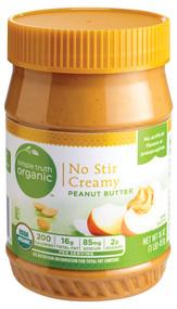 Simple Truth Organic No Stir Creamy Peanut Butter - 16 oz