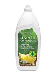 Seventh Generation Natural Dish Liquid Fresh Citrus and Ginger - 25 fl oz
