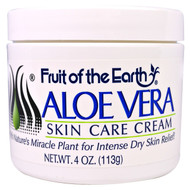 3 PACK of Fruit of the Earth, Aloe Vera Skin Care Cream, 4 oz (113 g)