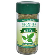 3 PACK of Frontier Natural Products, Sweet Basil, Leaf Flakes, 0.48 oz (13 g)