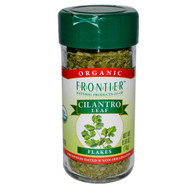 3 PACK of Frontier Natural Products, Organic Cilantro Leaf, Flakes, 0.56 oz (16 g)