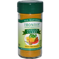 3 PACK of Frontier Natural Products, Indian Curry Seasoning, 1.87 oz (53 g)