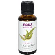 3 PACK of Now Foods, Essential Oils, Eucalyptus, 1 fl oz (30 ml)