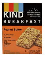 Kind Breakfast Bars  Peanut Butter - 4 Packs of 2 Breakfast Bars (5 PACK)
