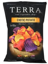 Terra, Exotic Gourmet Potato Chips,  Sea Salt - 5 oz -5 PACK