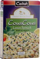 Casbah, CousCous,  Lemon Spinach - 7 oz -5 PACK