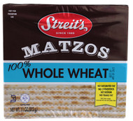 Streits, Whole Wheat Matzos - 11 oz -5 PACK