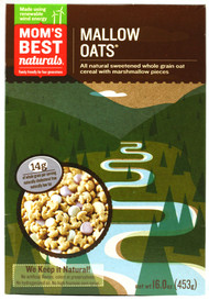 Moms Best Naturals, Cereal,  Mallow Oats - 16 oz -5 PACK