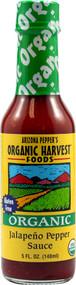 Organic Harvest Foods, Arizona Peppers Organic Sauce,  Jalapeno Pepper - 5 fl oz -5 PACK