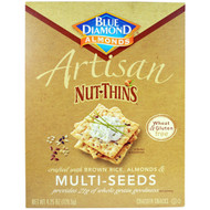 3 PACK of Blue Diamond, Artisan Nut-Thins, Multi-Seeds Cracker Snacks, 4.25 oz (120.5 g)