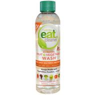 3 PACK OF Eat Cleaner, All Natural Fruit + Vegetable Wash, 6 fl oz (177.44 ml)