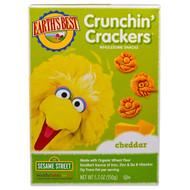 Earths Best, Crunchin Crackers, Sesame Street, Cheddar, 5.3 oz (150 g)