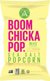 Angies Artisan Treats, Boomchickapop Popcorn,  Sea Salt - 5 oz -5 PACK