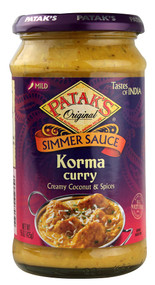 Pataks, Simmer Sauce,  Korma Curry - 15 oz -5 PACK