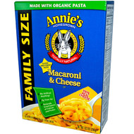 3 PACK of Annies Homegrown, Macaroni & Cheese, Family Size, Classic Cheddar, 10.5 oz (298 g)