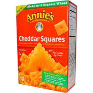 3 PACK of Annies Homegrown, Cheddar Squares, Baked Snack Crackers with Whole Grain, 7.5 oz (213 g)