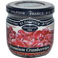 3 PACK of St. Dalfour, Super Plump Premium Cranberries, 7 oz (200 g)