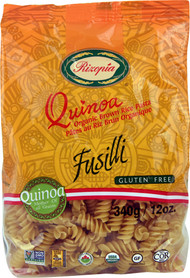 5 PACK of Rizopia Quinoa Organic Brown Rice Fusilli Pasta - 12 oz