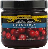 Walden Farms, Sauce & Fruit Spread,  Cranberry - 12 oz -5 PACK