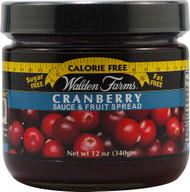 3 PACK of Walden Farms Sauce & Fruit Spread Cranberry -- 12 oz