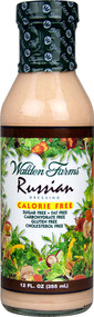 Walden Farms, Calorie Free Dressing,  Russian - 12 fl oz -5 PACK