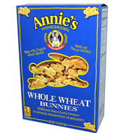 3 PACK of Annies Homegrown Whole Wheat Bunnies Baked Snack Crackers -- 7.5 oz