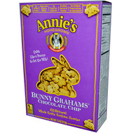 3 PACK of Annies Homegrown Bunny Grahams Baked Snacks Chocolate Chip -- 7.5 oz